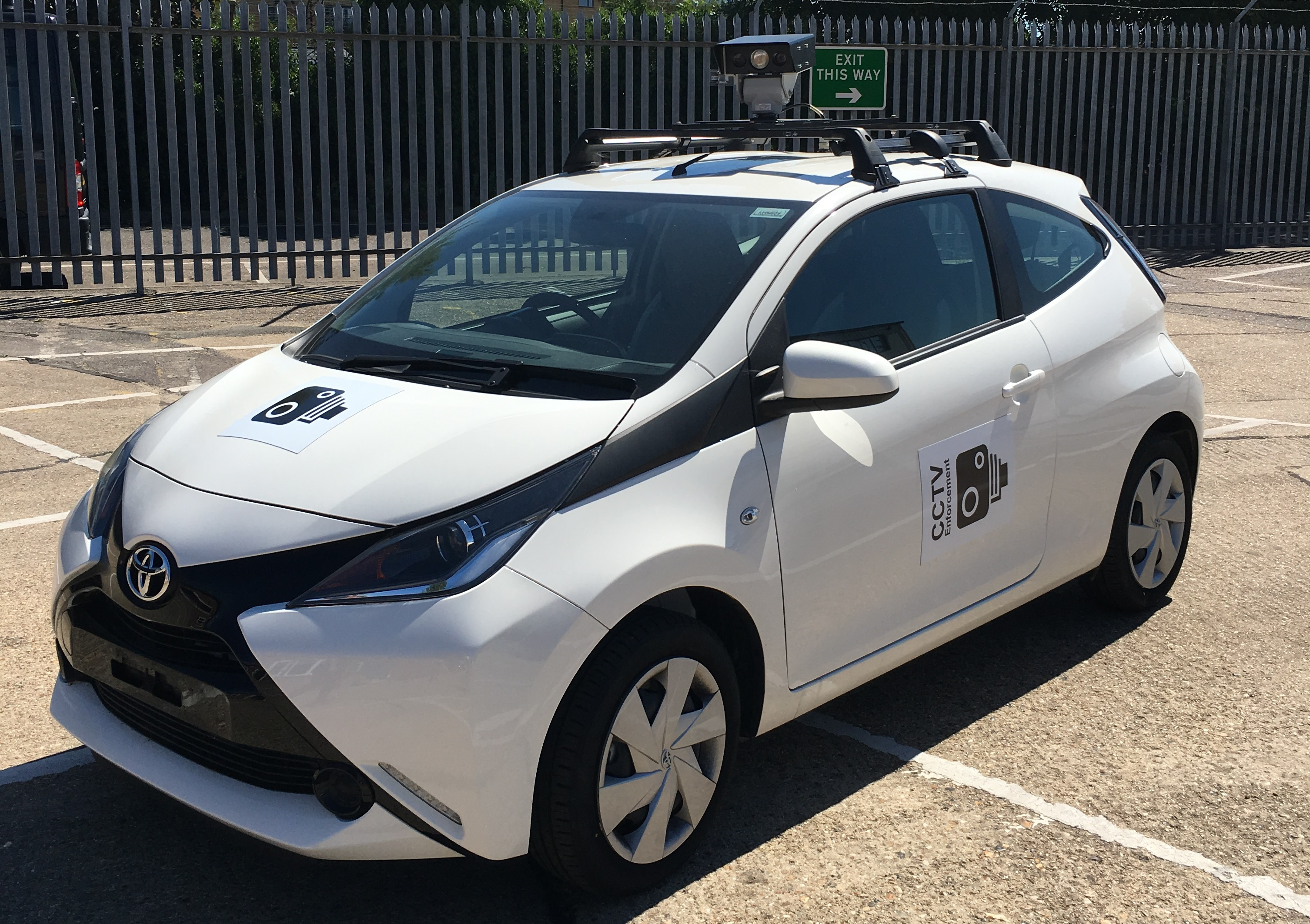Photo of the CCTV Car