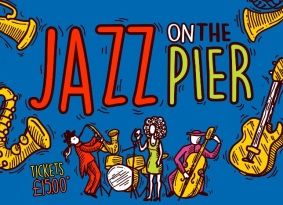 Picture of logo for Jazz on the Pier events