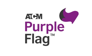 ACTM Purple Flag Logo