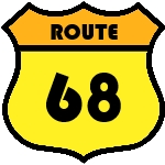 Route 68 on Shield