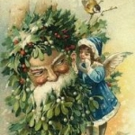Traditional depiction of Santa