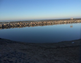 Photo of new lagoon at Southend seafront