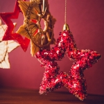 Star shaped Christmas bauble