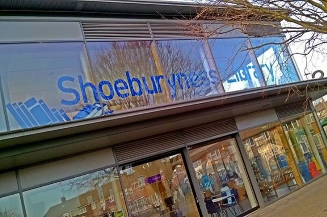 Photograph of Shoeburyness Library