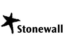 Picture of black and white stonewall logo