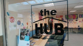 Photo of the hub walk-in community advice centre