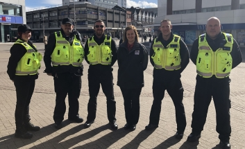 Community Safety Team in High St