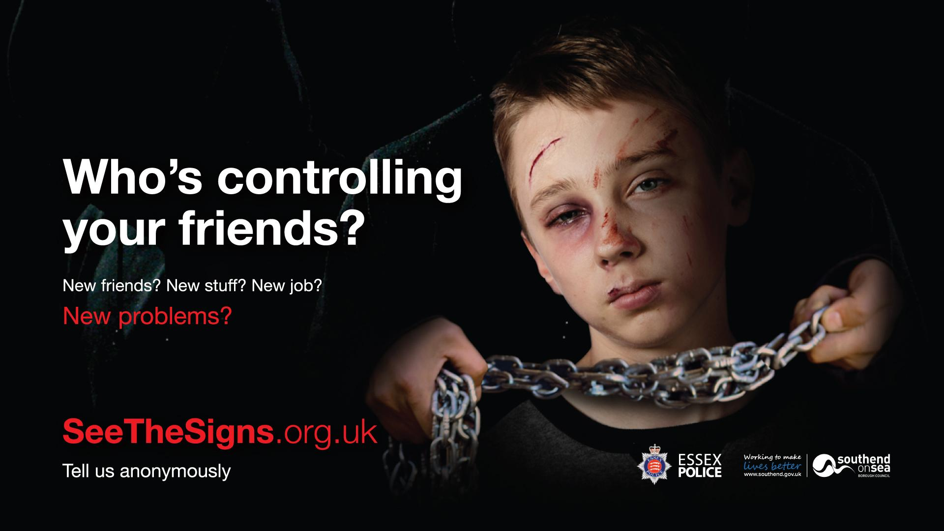Who's controlling your child campaign