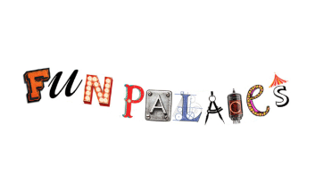 Text Fun Palaces in different fonts