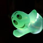 Glowing Green Ghost