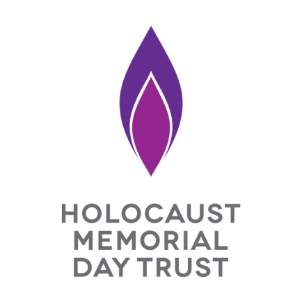 Holocaust Memorial day Logo from the Holocaust Memorial Day Trust