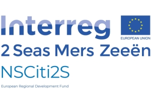 Interre Logo, blue text on white background with European flag.