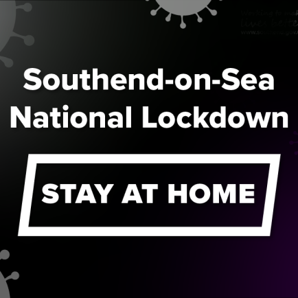 Southend-on-Sea, National Lockdown, Stay At Home.