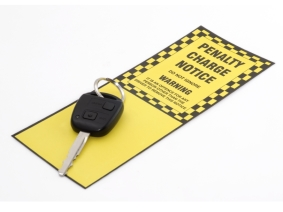 Car Key on Penalty Notice
