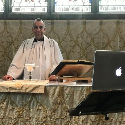 Reverend paul mackay from st mary s prittlewell