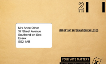 New Canvass Envelope